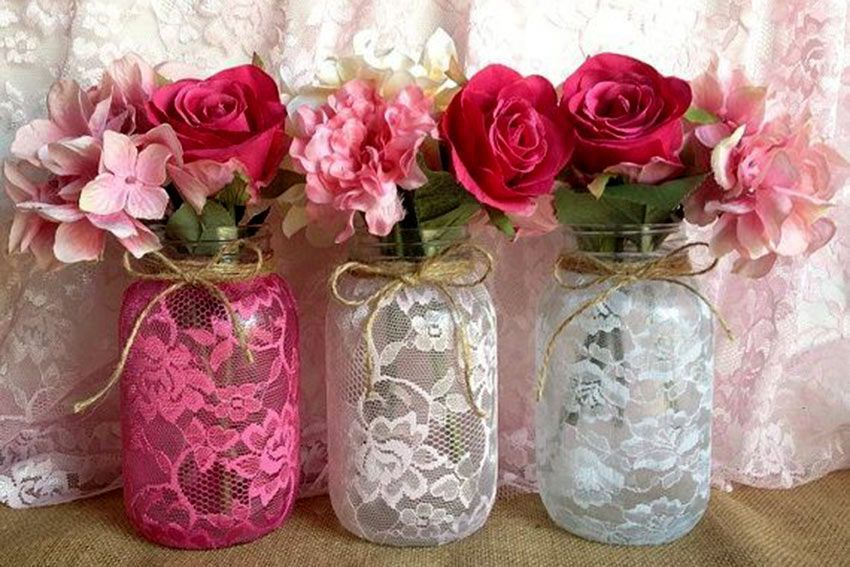 Pearl And Lace Wedding Style